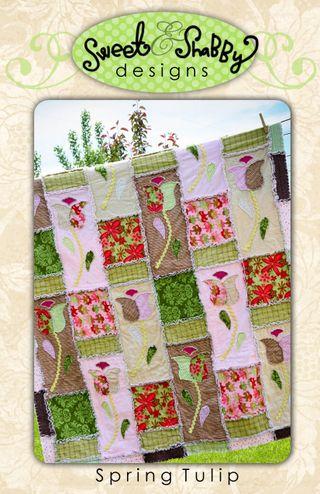 Spring tulip pattern pics